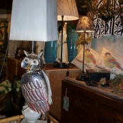 Owl table lamp..very gorgeous...also available as a candle holder