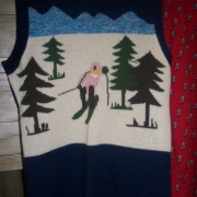 Funky Vintage ski themed clothing. These are absolutely amazing and becoming harder to source